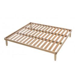 Rete da letto Duble in legno di Faggio - Matrimoniale